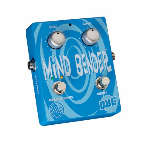 BBE MIND BENDER Analog Dual-Mode Vibrato/Chorus Pedal with Bypass