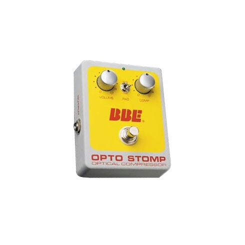 BBE OPTO STOMP Stomp Box Version of the Optical Compressor
