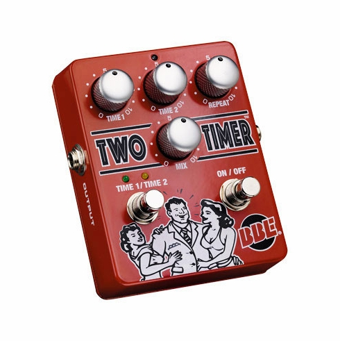BBE TWO TIMER Dual-Mode Analog Delay, 0-330ms with True Bypass