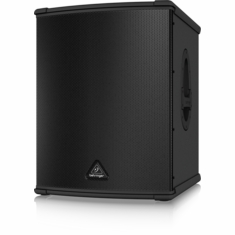 "BEHRINGER B1500XP High-Performance Active 3000-Watt PA Subwoofer with 15"" TURBOSOUND Speaker and Built-In Stereo Crossover"