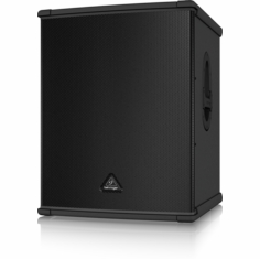 "BEHRINGER B1800XP High-Performance Active 3000-Watt PA Subwoofer with 18"" TURBOSOUND Speaker and Built-In Stereo Crossover"