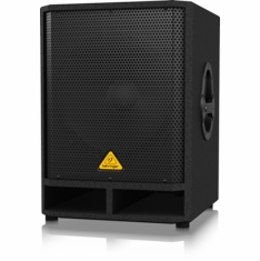 "BEHRINGER VQ1500D Professional Active 500-Watt 15"" PA Subwoofer with Built-In Stereo Crossover"