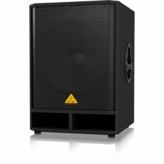 "BEHRINGER VQ1800D Professional Active 500-Watt 18"" PA Subwoofer with Built-In Stereo Crossover"