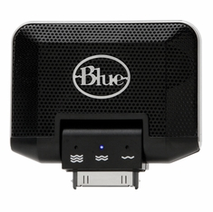 BLUE MIC MIKEY Stereo Mic turns your iPod and 3G iPhone into a Stereo Recorder