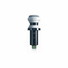 "CAD AUDIO 210 Omnidirectional Adjustable Line Output ""button"" Microphone with Limiting Circuitry - White"