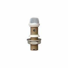 "CAD AUDIO 2220VPW-DSP Variable Polar Pattern Installation Boundary ""button"" Microphone DSP Compatible - White"
