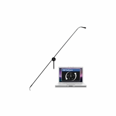 "CAD AUDIO 2700VP-DSP Variable Polar Pattern, 56"" Miniature Choir Boom Microphone DSP Compatible - Black"