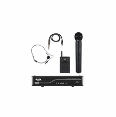 CAD AUDIO GXLUHBK UHF Wireless Combo System- Handheld and Bodypack Microphone System K Frequency Band