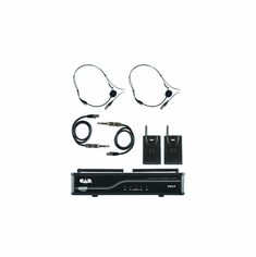 CAD AUDIO GXLVBBH VHF Wireless Dual Bodypack Microphone System H Frequency Band