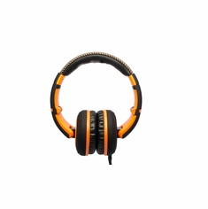 CAD AUDIO MH510OR Closed-back Studio Headphones -50mm Drivers- Black/Orange - Two Cables, Two Sets Earpads