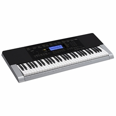 CASIO CTK4400 61 Piano-style touch-response keys, 48 note polyphony, 600 Tones, 180 Rhythms, 152 Songs, 5 song / 6 track recorder