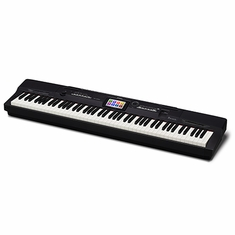 CASIO PX360BK 88 Full-size weighted scaled hammer action tri-sensor keys