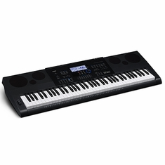 CASIO WK6600 76 Piano-style keys, 48 note polyphony, 700 Tones, 210 Rhythms, Digital effects