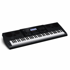 CASIO WK7600 6 Piano-style keys, Stereo Audio Recording, 9 sliders with organ drawbar mode