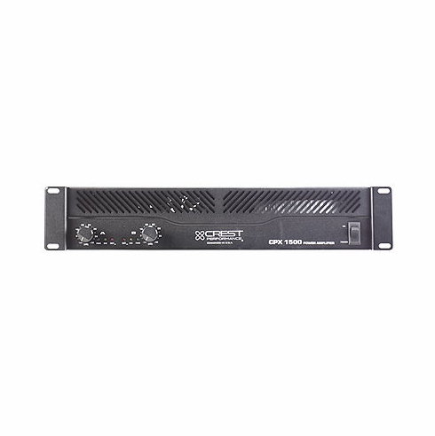 CREST AUDIO CPX-1500 Professional CPX Series Amplifiers