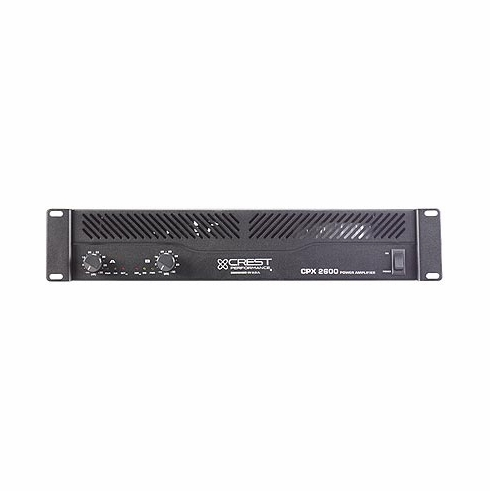 CREST AUDIO CPX-2600 Professional CPX Series Amplifiers