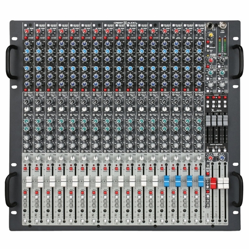 CREST AUDIO X 18R - The Crest Audio(r) X-Series(tm) is regarded as the most sonically accurate and operationally quiet, professional-level rack-mountable console range in the audio industry.