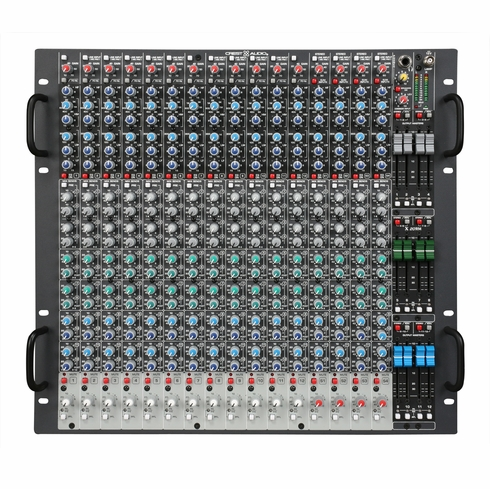 CREST AUDIO X 20RM - The Crest Audio(r) X-Series(tm) is regarded as the most sonically accurate and operationally quiet, professional-level rack-mountable console range in the audio industry.