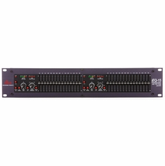 DBX iEQ15  iEQ Series - Intelligent Dual 15 Band Graphic Equalizer w/AFS