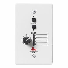 DBX ZC-9  ZC 8 Wall Mounted Up/Down Volume Controller
