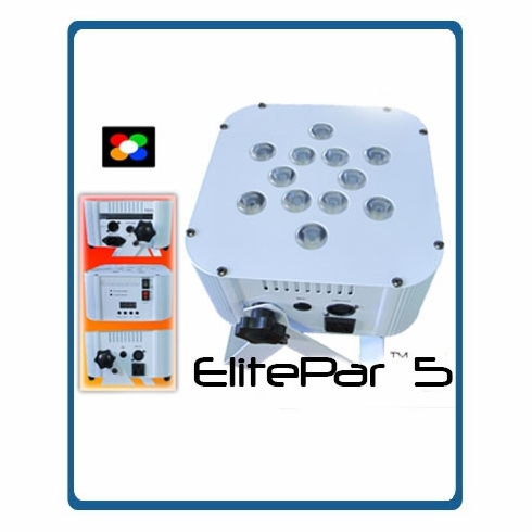 ETERNAL LIGHTING ElitePar�(White) 10 Watt RGBWA LEDs
