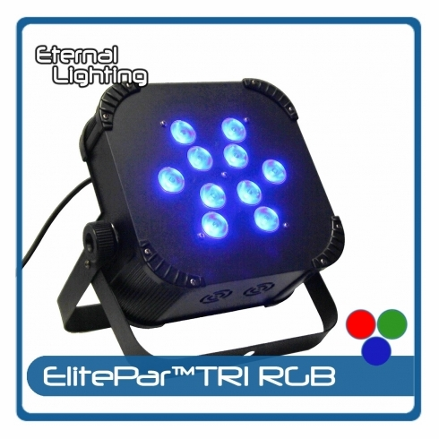 ETERNAL LIGHTING ElitePar™TRI 10 Watt RGB LEDs
