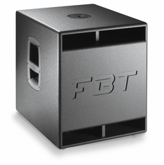 "FBT SUBLINE 12 SA Processed Compact Band-pass Active Subwoofer - 12"" - 600Wrms"