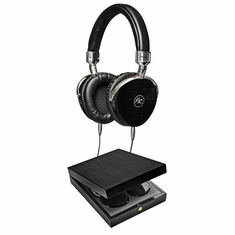 FLOYD ROSE AUDIO FR-18 BK Wired Wooden Headphones (Black)