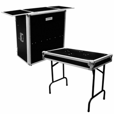FOLDOUT STANDS FOR DJ COFFINS, COMBO CASES & DJ TABLES