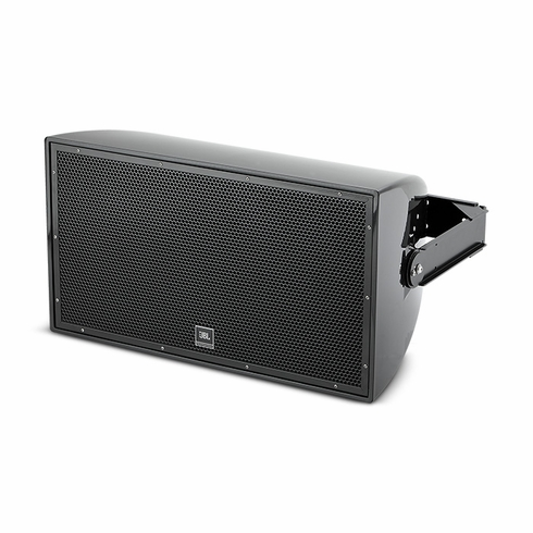 "JBL AW295-LS-BK 12"" 2-Way All Weather Loudspeaker with EN54-24 Certification, black."