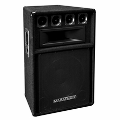 "MARATHON DJ-115  15"" 3-Way DJ - PA Speaker - 700W Peak Power"