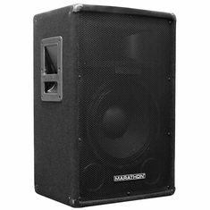 "MARATHON DJ-1202 12"" 2-WAY TRAPEZOID LOUD SPEAKER"