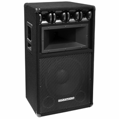 "MARATHON DJ-123  SINGLE 12"" THREE WAY LOUD SPEAKER PA-1250 EQUIPPED"