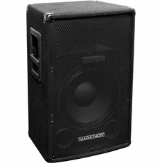 "MARATHON DJ-1502  COMPACT SINGLE 15"" TWO-WAY TRAPEZOID LOUD SPEAKER"