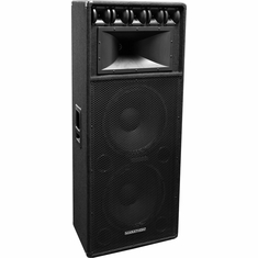 "MARATHON DJ-2183  DUAL 18"" THREE WAY LOUD SPEAKER"