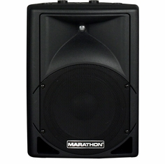 "MARATHON ENT-10P  Active 10"" 2-Way ABS Loudspeaker"