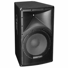 "MARATHON ENT-115 SINGLE 15"" 2-WAY DJ PA SPEAKER"