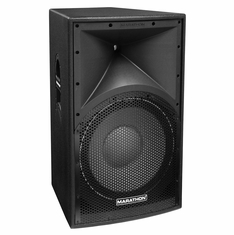 "MARATHON ENT-115V2  TEXTURE COATED SINGLE 15"" TWO WAY LOUDSPEAKER"