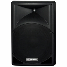 "MARATHON ENT-15P Active 15"" 2-Way ABS Loudspeaker"