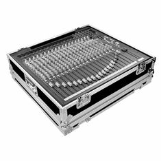 MARATHON ® FLIGHT ROAD CASE ™ CASE FOR ALLEN & HEATH ZED-22FX OR ZED-24 PA MIXING CONSOLE OR ANY EQUAL SIZE FORMAT MIXING CONSOLE