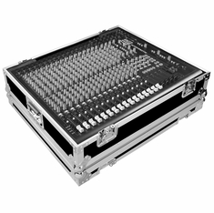 MARATHON ® FLIGHT ROAD CASE ™ CASE FOR ALLEN & HEATH ZED-420 PA MIXING CONSOLE OR ANY EQUAL SIZE FORMAT MIXING CONSOLE