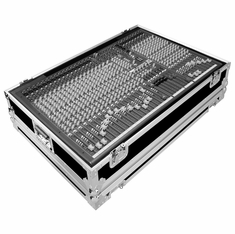 MARATHON ® FLIGHT ROAD CASE ™ CASE FOR ALLEN & HEATH ZED-428 PA MIXING CONSOLE OR ANY EQUAL SIZE FORMAT MIXING CONSOLE