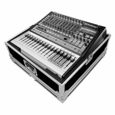 MARATHON ® FLIGHT ROAD CASE ™ CASE FOR PRESONUS STUDIO LIVE 24 MIXING CONSOLE OR ANY EQUAL SIZE FORMAT MIXING CONSOLES