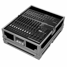 MARATHON ® FLIGHT ROAD CASE ™ CASE FOR YAMAHA EMX5014 POWERED MIXING CONSOLE OR ANY EQUAL SIZE FORMAT MIXING CONSOLES