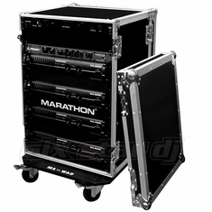 MARATHON FLIGHT ROAD CASE MA-20UADW    20U AMPLIFIER DELUXE CASE
