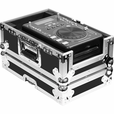 MARATHON FLIGHT ROAD CASE MA-CDP, CASE FOR SINGLE CD PLAYERS, PIONEER CDJ100, CDJ200, NUMARK AXIS 9, 4, 2, 8, GEMINI ICDJ, ICFX AND OTHER BRANDS