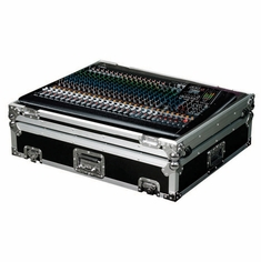 MARATHON ® FLIGHT ROAD CASE ™ MA-MGP24XW CASE FOR YAMAHA MGP24X MIXING CONSOLE OR ANY EQUAL SIZE FORMAT MIXING CONSOLES - WITH CASTERS