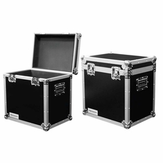 "MARATHON ® FLIGHT ROAD CASE ™ MA-TUT1388 UTILITY TRUNK CASE WITH EXTERIOR DIMENSION OF 13""W X 8""D X 8""H"