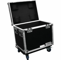 MARATHON FLIGHT ROAD CASE MA-TUT241820W Utility Trunk Case with Stackable Caster Dish