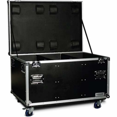 "MARATHON ® FLIGHT ROAD CASE ™ MA-TUT462127W UTILITY TRUNK CASE - EXTERIOR 46""W X 21""H X 27""D  WITH CASTER KIT AND STACKABLE CASTER DISH"